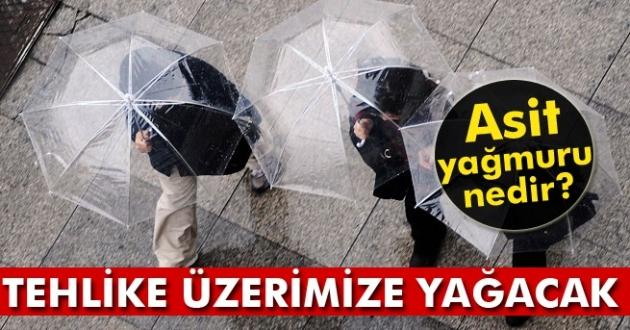 Dikkat! Beykoz'a asit yağmuru yağacak