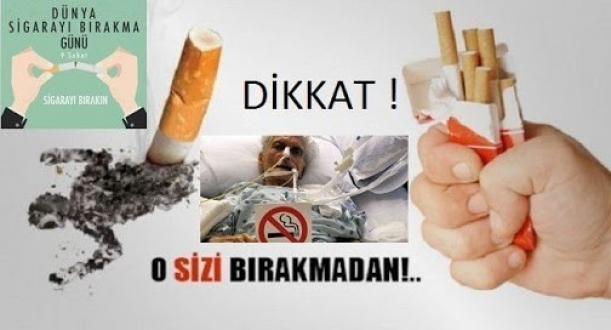 Sigarayı bırakmak için neyi bekliyorsunuz?