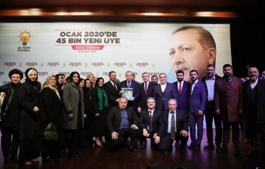 AK Parti Beykoz'a bir ödül daha!