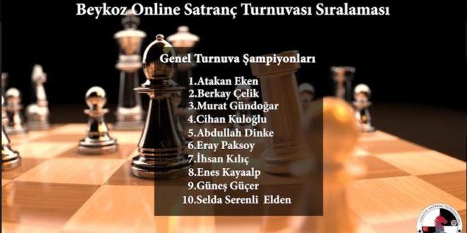 İlçe Spor Müdürlüğü evde satranç turnuvası başlattı!