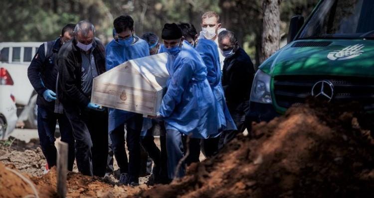 Beykoz'da Koronavirüsten kaç kişi defnedildi? Sayı artıyor mu?