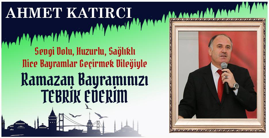 Beykoz Kaymakamı Ahmet Katırcı'dan Bayram tebriği