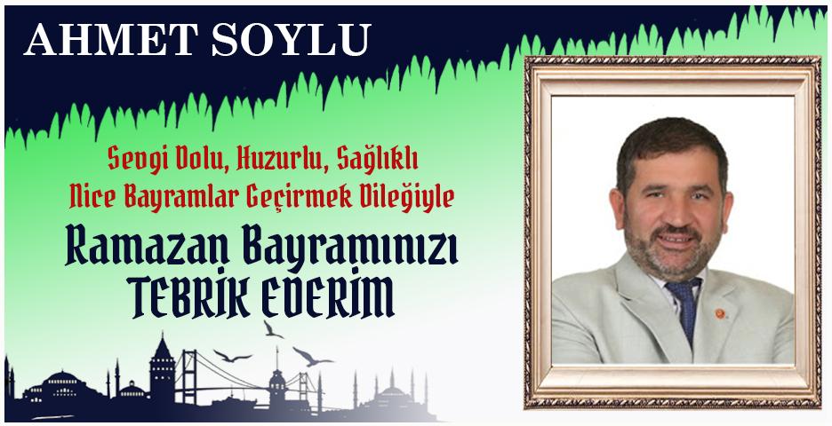 Ahmet Soylu'dan Bayram tebriği