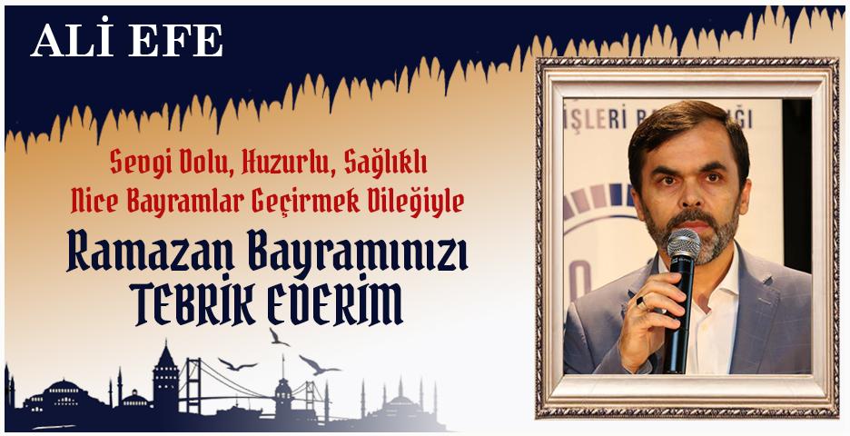 Beykoz Müftüsü Ali Efe'den Bayram mesajı