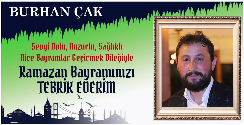 Burhan Çak'tan Bayram tebriği