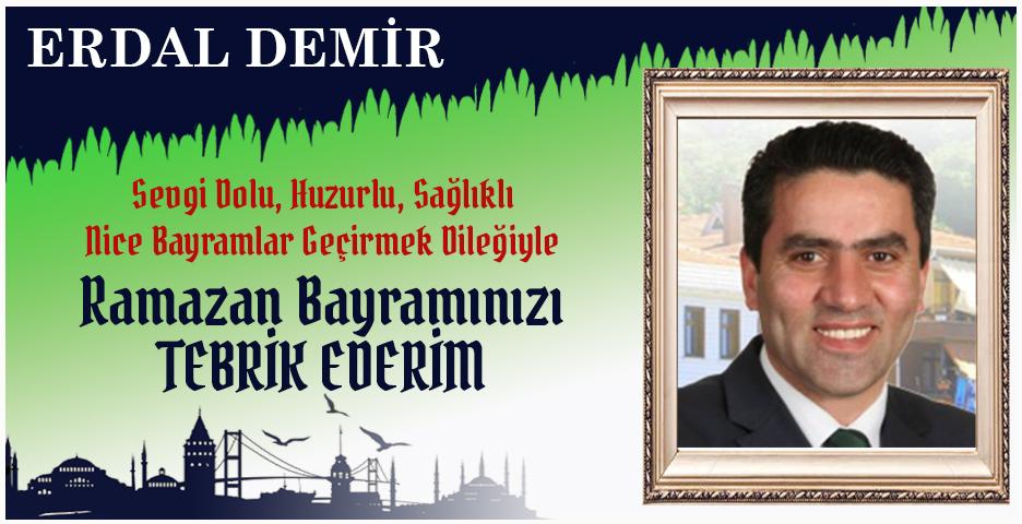 Av. Erdal Demir'den Bayram tebriği