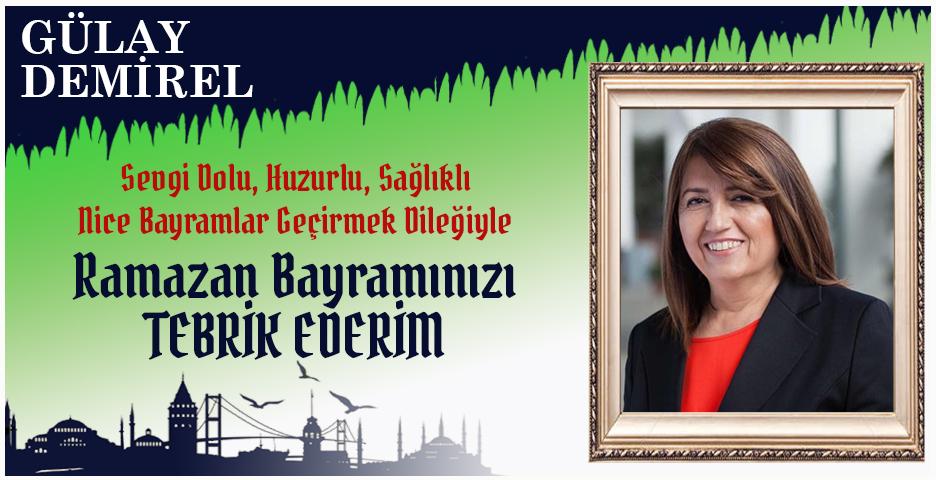 Gülay Demirel'den Bayram tebriği