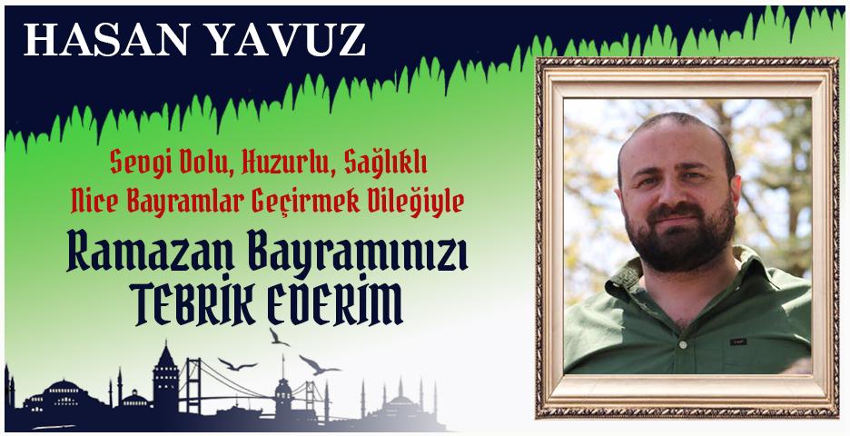 Hasan Yavuz'dan Bayram tebriği