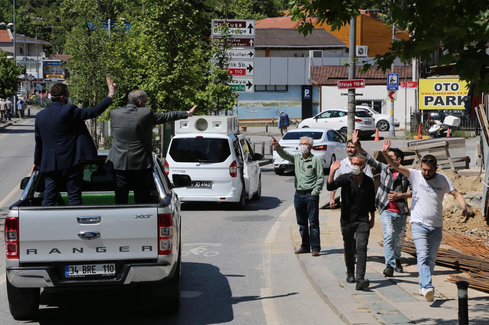 Başkan Dilmaç ve Aydın'dan ilginç bayram kutlaması!