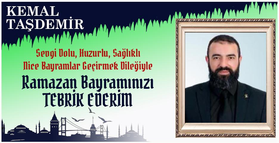 Kemal Taşdemir'den Bayram mesajı