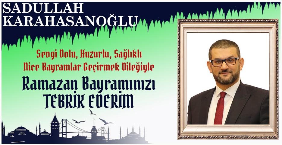 Sadullah Kabahasanoğlu'ndan Bayram tebriği