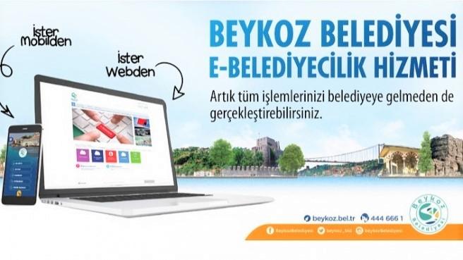 Beykoz'da, Belediyeye gitmenize gerek yok!