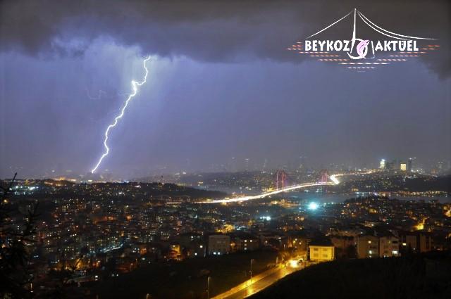 Beykoz'da gece gündüze döndü!
