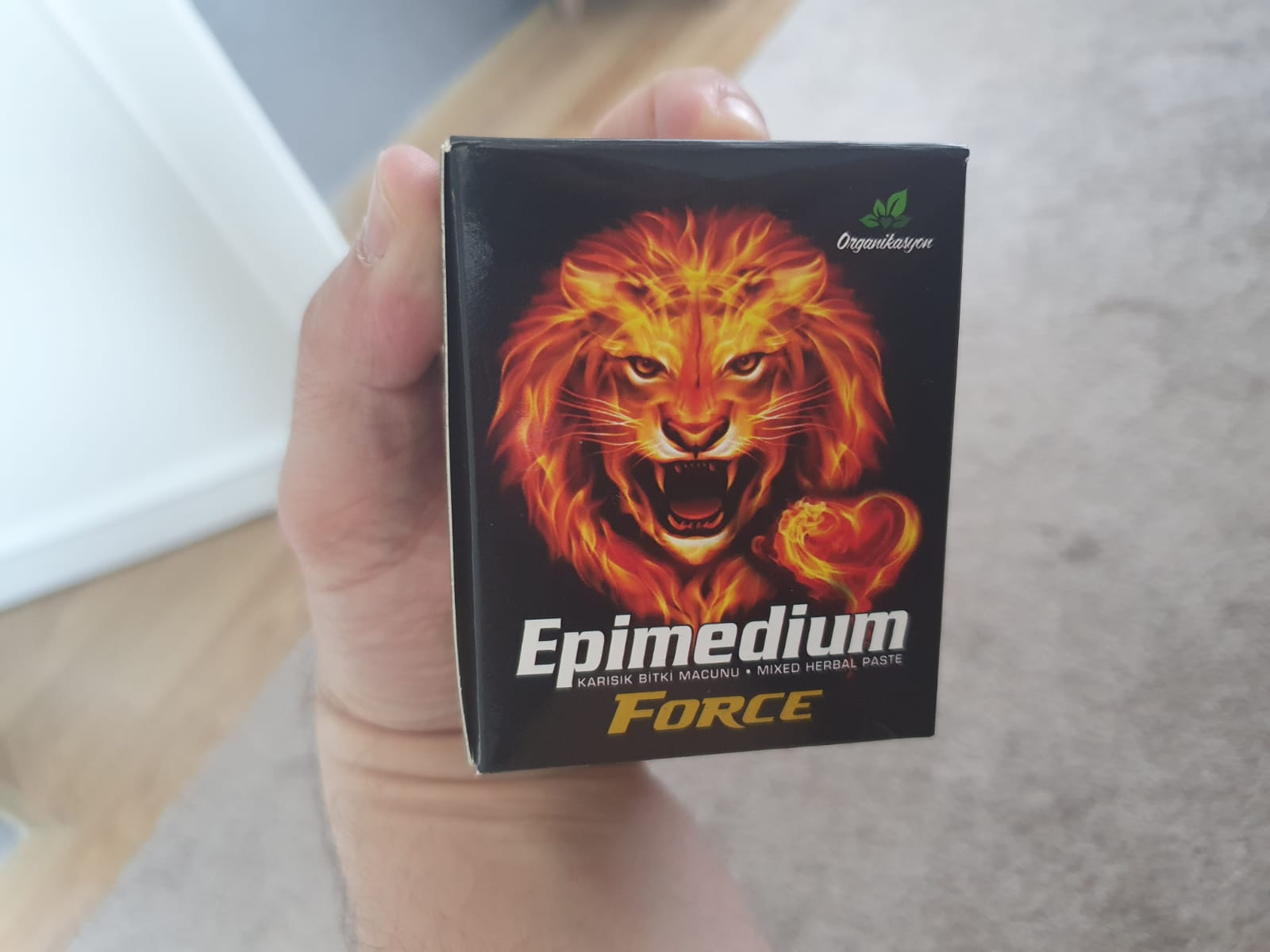 En etkili kuvvet macunu Epimedium Force