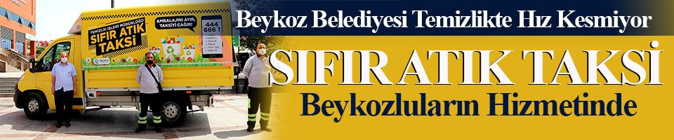 Beykoz'da bu Taksi evlerden atık toplayacak!
