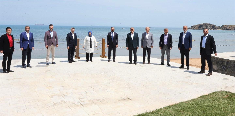 Beykoz, belediye başkanlarına ev sahipliği yaptı