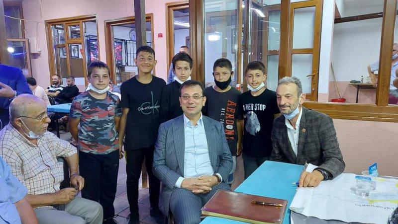 İBB Başkanı Ekrem İmamoğlu'ndan Beykoz köylerine sürpriz ziyaret
