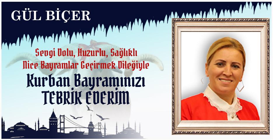 Gül Biçer'den Kurban Bayramı mesajı