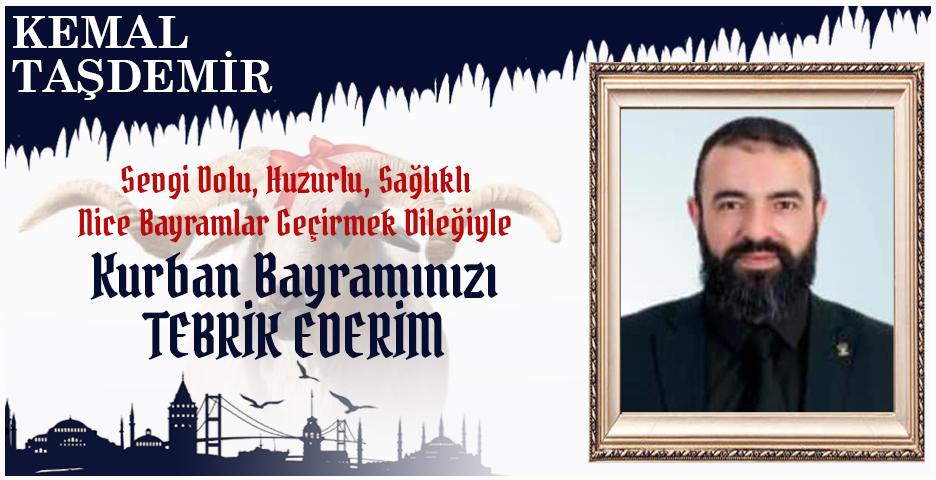 Kemal Taşdemir'den Kurban Bayramı mesajı