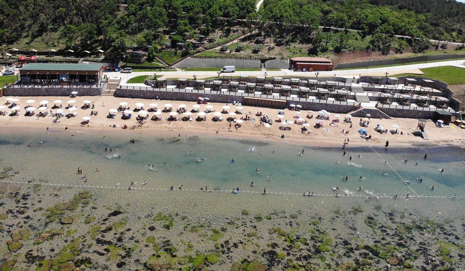 Elmasburnu Plajı için açılış yapılacak