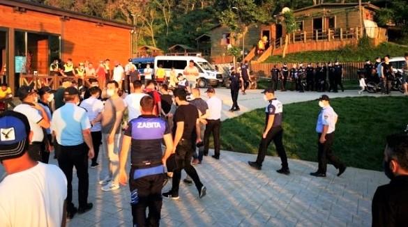 Beykoz'da çirkin provokasyon: Ortalık karıştı!