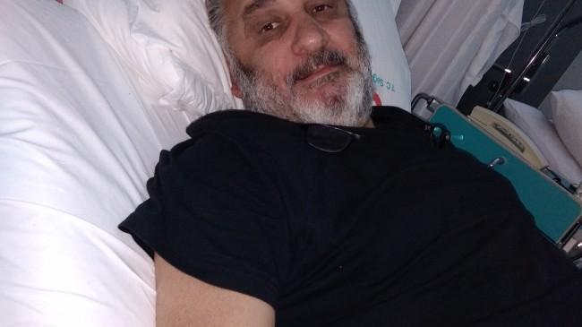 Gazeteci Sedat Dalar Hastaneye kaldırıldı
