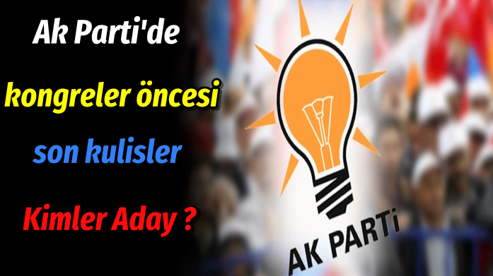 AK Parti Beykoz kongresi: Kulisler hareketli!