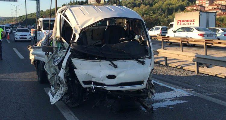 Beykoz Kavacık sapağında felaket kaza!
