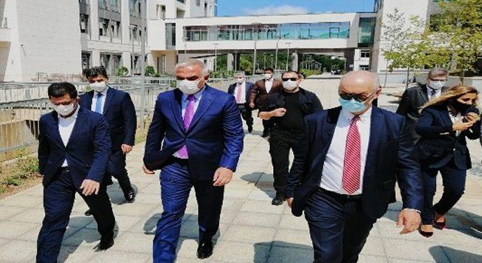 Turizm Bakanı Ersoy, ayağının tozuyla Beykoz'a geldi