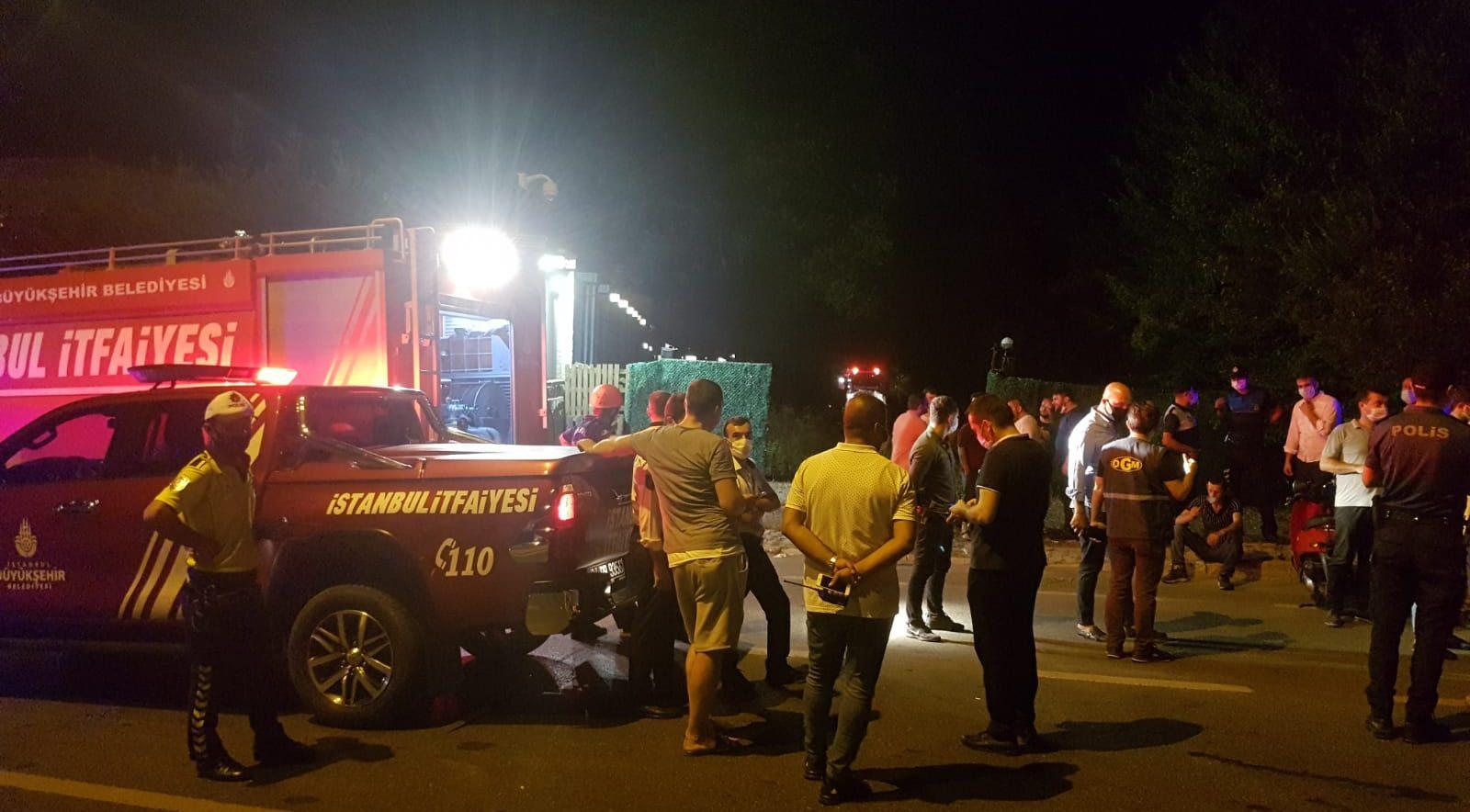 Beykoz'da ki yangın Ankara'yı da panikletti
