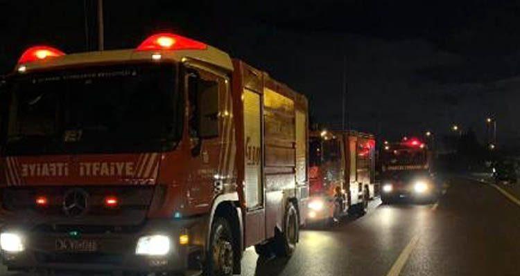 Beykoz Çavuşbaşı'nda yangın paniği