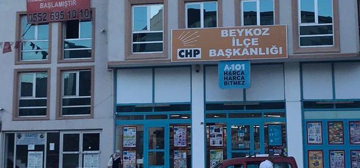 CHP Beykoz'da korona tedbiri