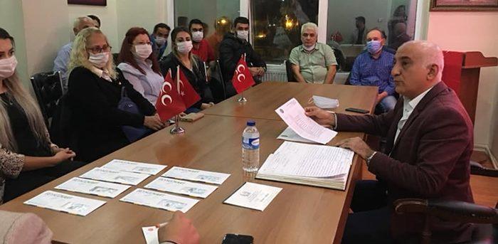 MHP Beykoz'da görevlendirme yaptı