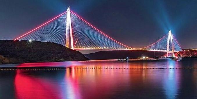 Karadeniz'e açılan gerdanlık: Yavuz Sultan Selim Köprüsü!