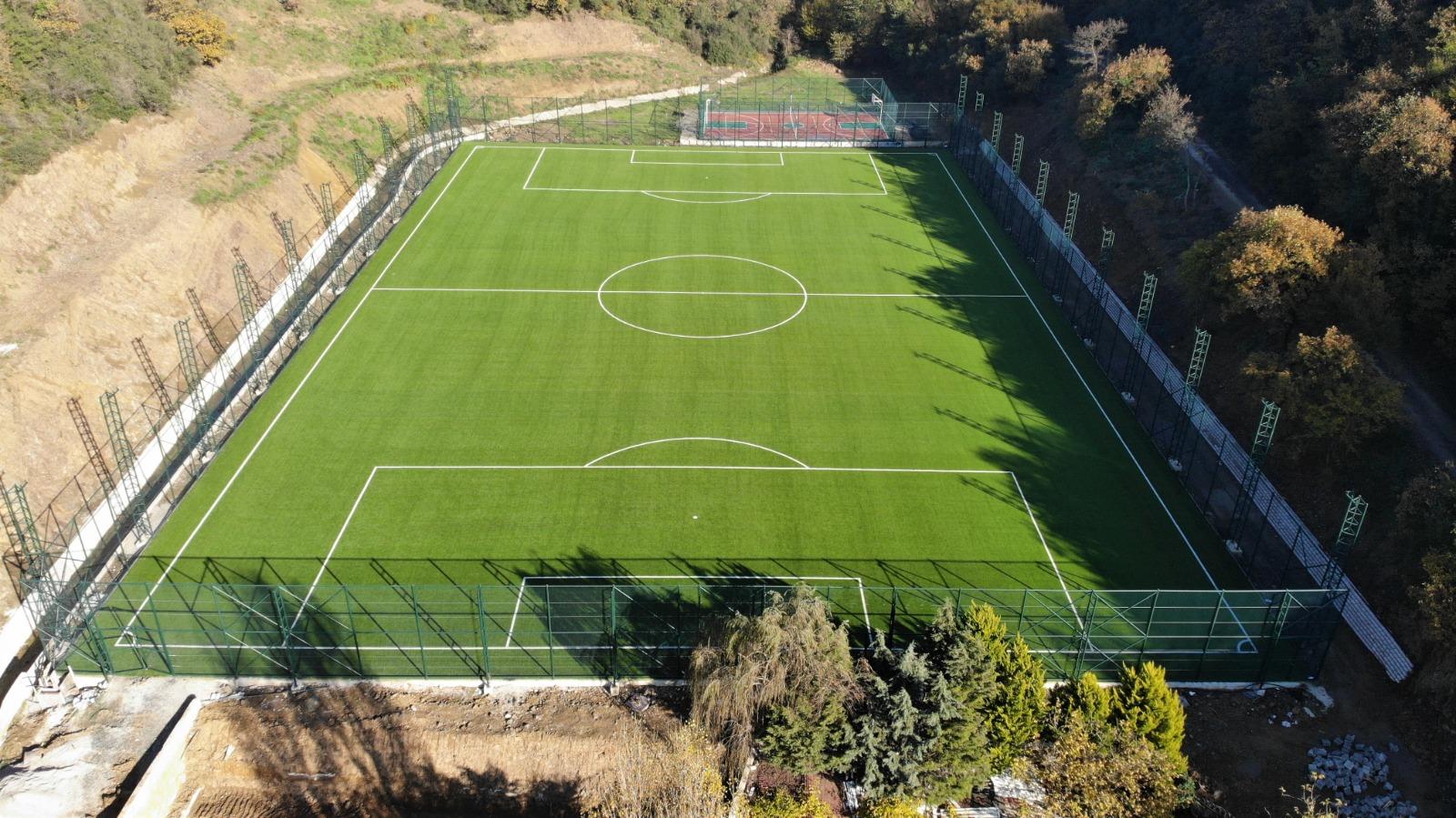 Beykoz yeni spor sahalarıyla çok daha güzel