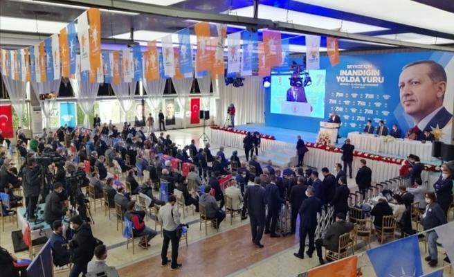 AK Parti Beykoz İlçe Kongresi yapıldı