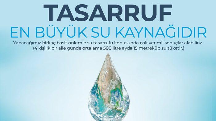 Sularımızı tasarruflu kullanalım!