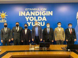 Ak Parti Beykoz Gençlik Kolları'nda değişim
