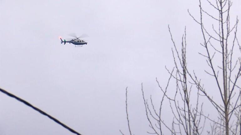 Son dakika! Çavuşbaşı'na helikopter düştü ihbarı