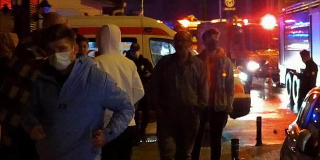 Beykoz'da sigara izmaritinden yangın çıktı