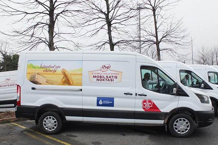 Mobil Halk Ekmek Büfesi evinize gelecek