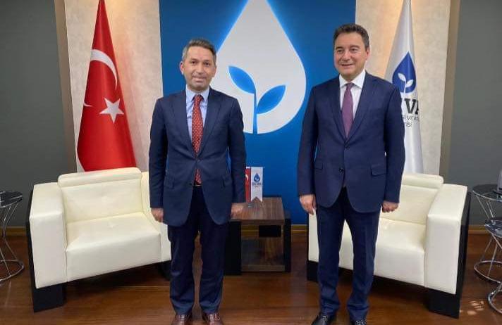 DEVA Partisi Beykoz İlçe Başkanı belirlendi