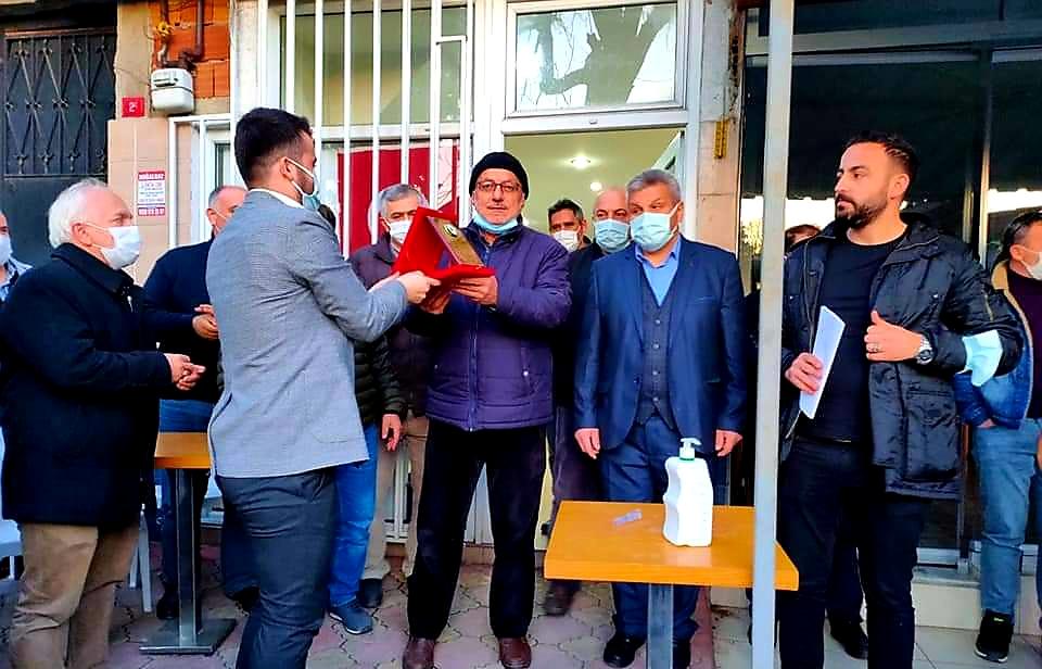 Mutluder'de yeni başkan Murat Öz oldu