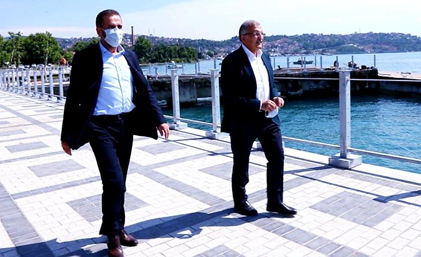 Hanefi Dilmaç'tan Murat Aydın'a Beykoz sahili övgüsü!