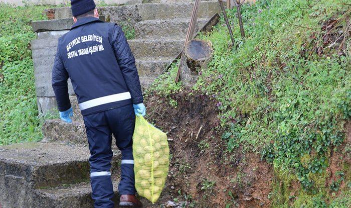 Beykoz'da ücretsiz 75 ton patates dağıtılıyor