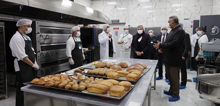 Beykoz'da 5 bin yemek kapasiteli mutfak!