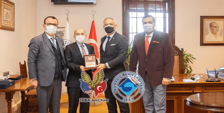 Boğaziçi Üniversitesi ve TABA AmCham işbirliğine gidiyor