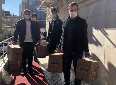 Beykoz Ülkü Ocakları yardımlara devam ediyor