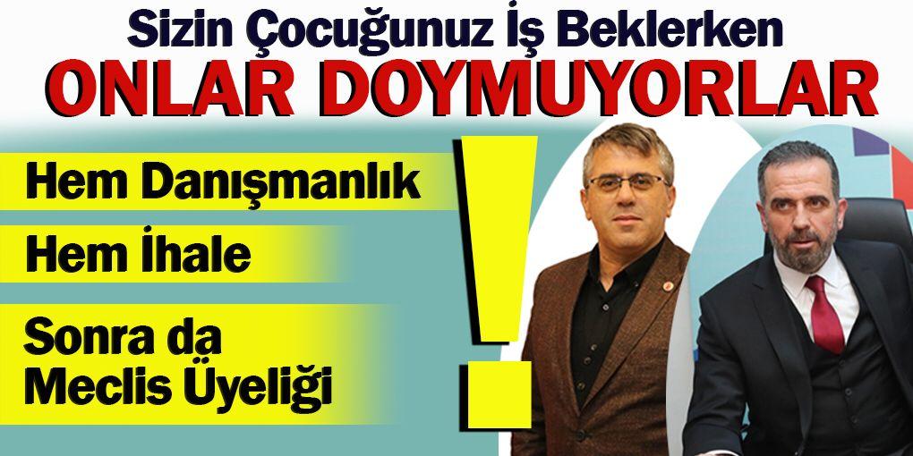 Beykoz'da skandal! Vatandaş iş bekliyor, onlar doymuyor!