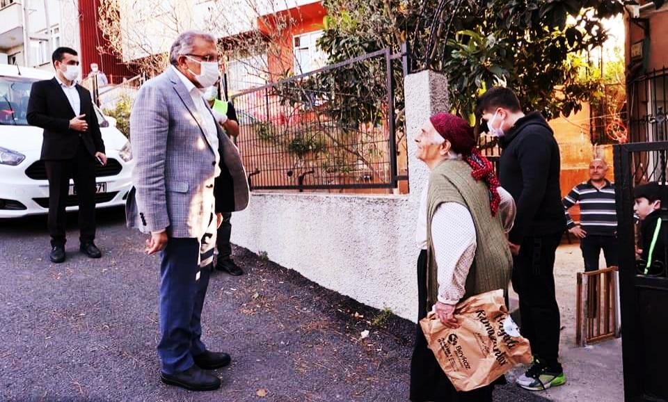 Beykoz'un ara sokaklarında duygulandıran diyaloglar!
